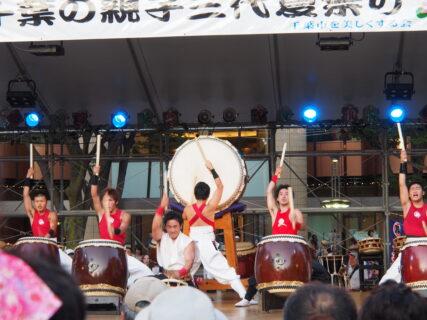 第38回・中央公園ステージ・日本太鼓TAKERU