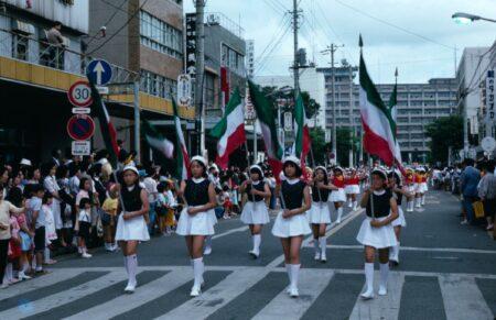 千葉開府850年式典挙行のパレード