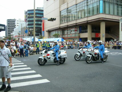 第31回・パレード・千葉県警察本部交通機動隊・県警白バイ隊