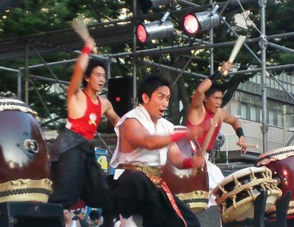 第38回・中央公園ステージ・日本太鼓