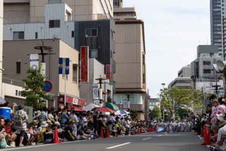 第44回・よさこい・栄町通り