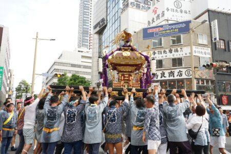 第44回・みこし・諏訪神社浜野実行委員会