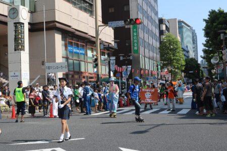 第44回・パレード・千葉マリンローラーズ