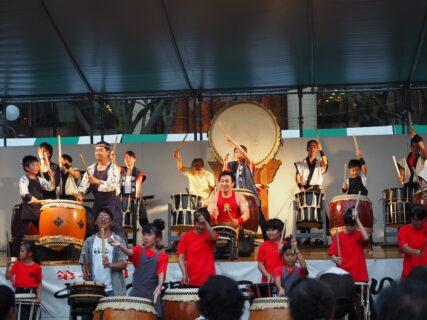 第44回・中央公園ステージ・日本太鼓TAKERU