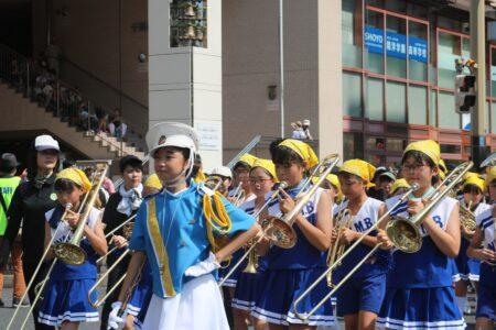 第44回・パレード・千葉市立院内小学校特設音楽クラブ