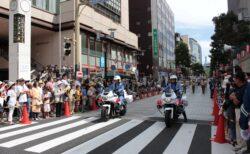 第43回・パレード・千葉県警察本部交通機動隊ホワイトレディース